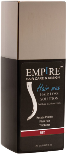 EMPIRE HAIR RED