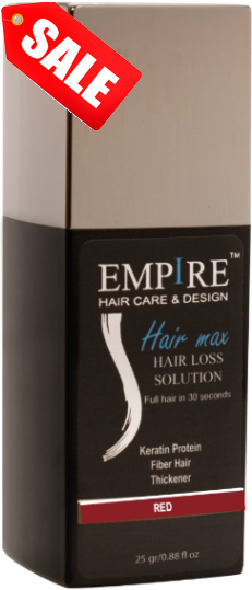 sale 3plus1 <br>EMPIRE HAIR RED